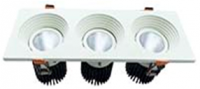 Downlight COB model V 3 Head 27W,